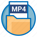 document, extension, file, mp4