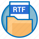 document, extension, file, rtf