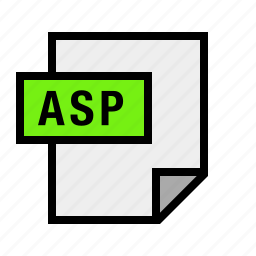asp, document, file, filetype icon