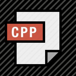 cplusplus, cpp, document, file, filetype icon