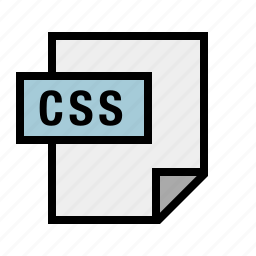 css, document, file, filetype, stylesheet icon