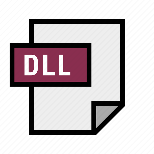 dll, document, file, filetype icon