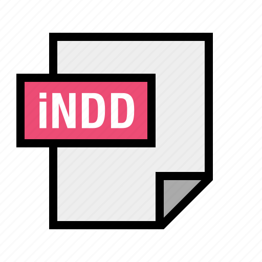 document, file, filetype, indd, indesign icon