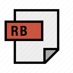 document, filetype, rb, ruby icon