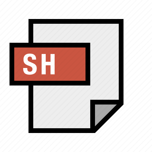 bash, document, filetype, sh, shell icon