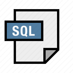 database, db, document, filetype, sql icon