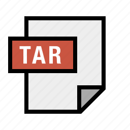 document, file, filetype, tar, tarball icon