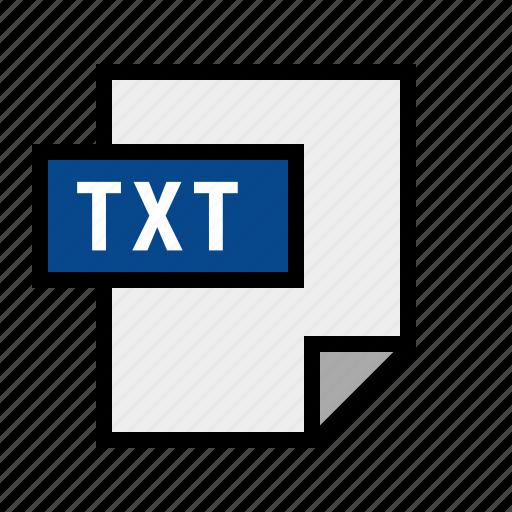 document, filetype, text, txt icon