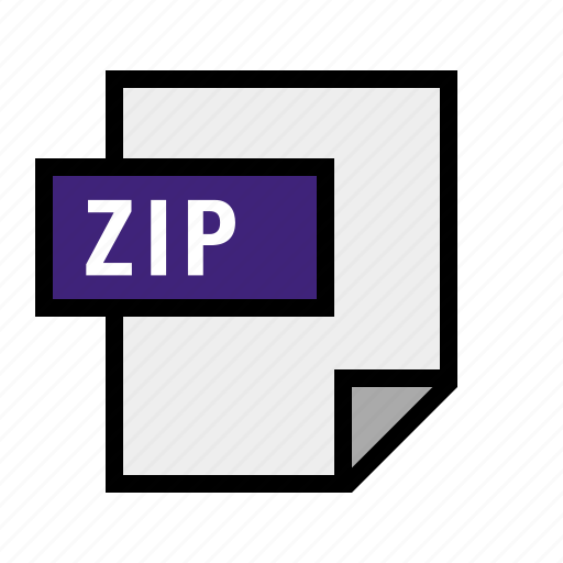 archive, document, file, filetype, zip icon