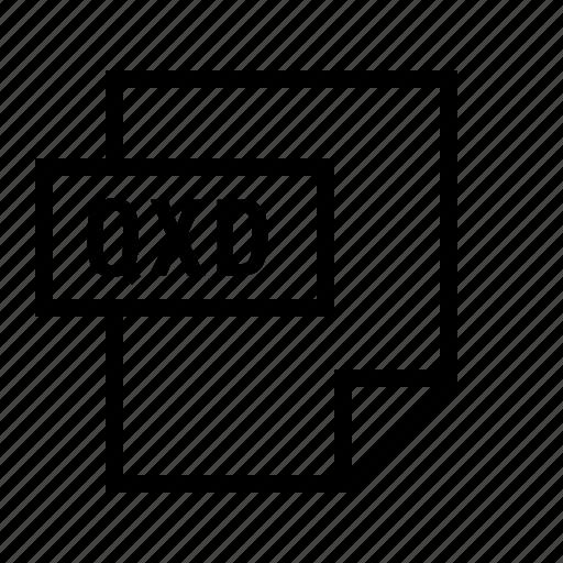 document, file, filetype, quarxpress, qxd icon