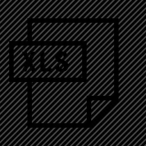 document, excel, file, filetype, spreadsheet, xls icon
