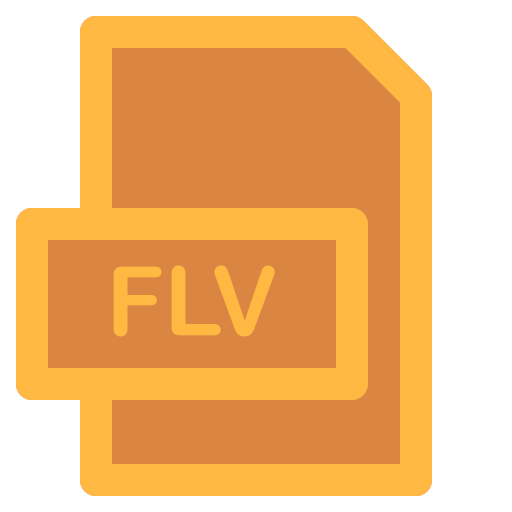 document, file, flv, format, type icon