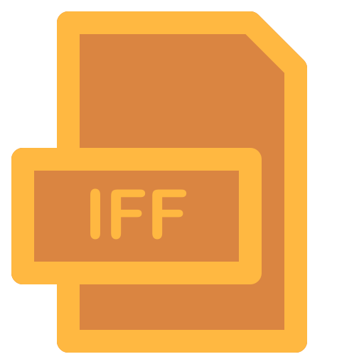 document, file, format, iff, type icon