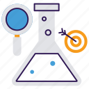 business research, business science, financial lab, financial research, money testing icon
