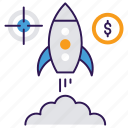 business planning, career ways, initial business, launching, startup, trade startup icon