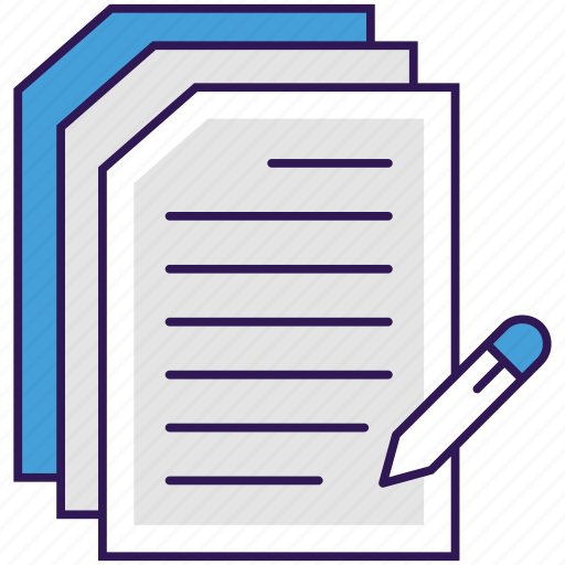 business documentation, documentation, documents, paperwork, written documents icon