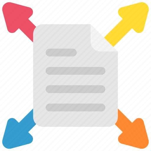 business, doc, document, file, office, page, paper icon