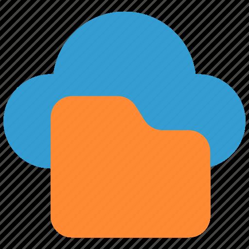 cloud, doc, document, file, files, folder, paper icon