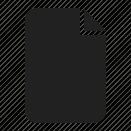 document, file, image, paper icon