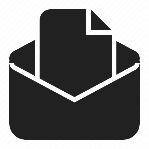 attacment, document, email, file icon