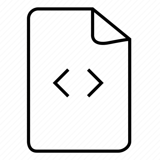 code file, doc, document, documents, file, files, format icon