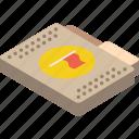 file, flag, folder, isometric