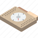file, folder, isometric, navigation