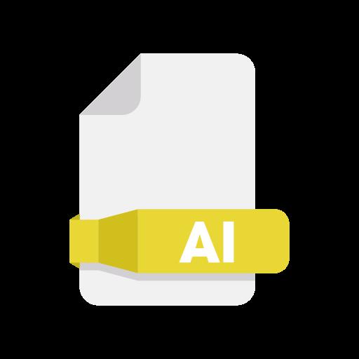 ai, document, files, folder icon