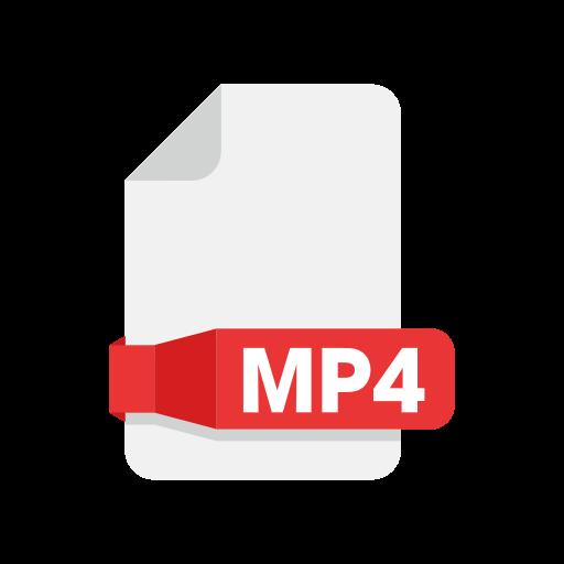 document, files, folder, mp4 icon