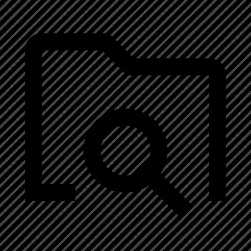 data, document, file, files, folder, search icon