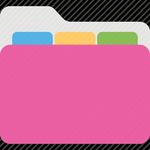 archive, computer folder, data storage, document folder, file folder icon
