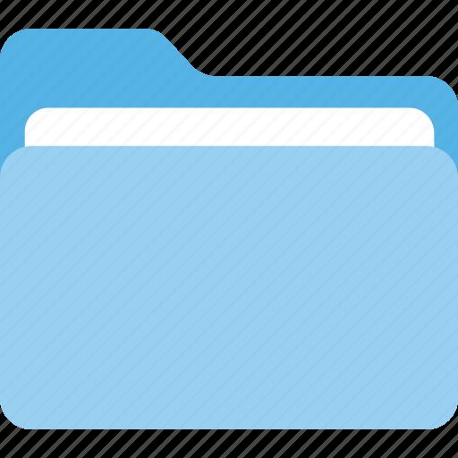 computer storage, data organizer, document folder, file folder, record management icon