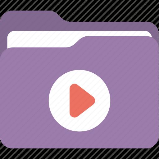 computer software, document storage, movie folder, user interface, video file icon