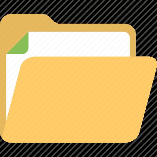 archive folder, data storage, document folder, document management, report file icon