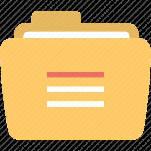 Insecure folder, document folder, open file, fast access folder, unlocked folder icon