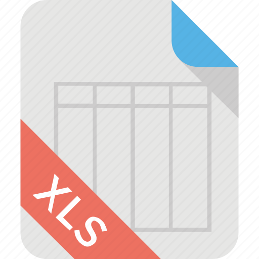 budget sheet, excel docs, excel sheet, taxes inventory, xls extension icon