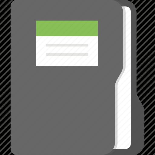 data storage, document file, office documentation, presentation file, project file icon