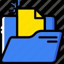 document, file, folder, write