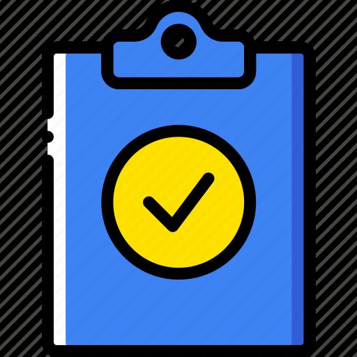 document, file, filpboard, folder, success, write icon