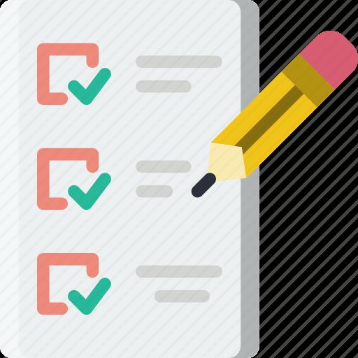 do, document, file, folder, list, to, write icon