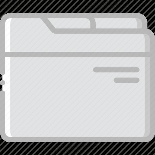 document, file, folder, write icon