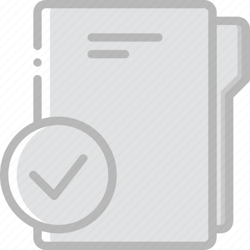document, file, folder, success, write icon