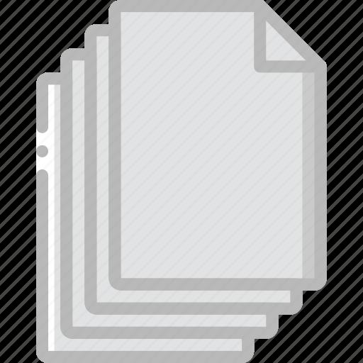 document, file, files, folder, write icon