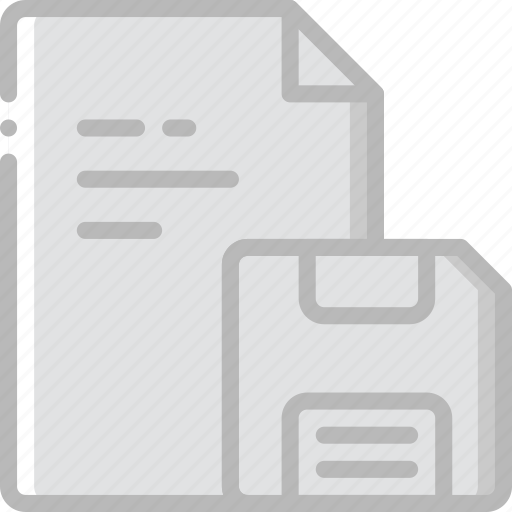 document, file, folder, save, write icon
