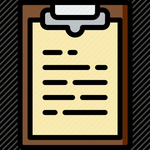 document, file, flipboard, folder, write icon