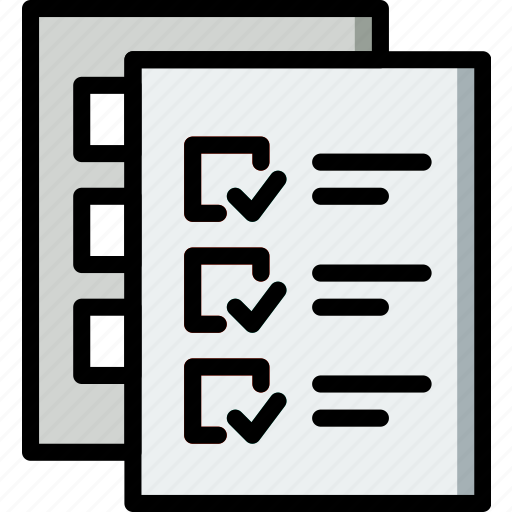 do, document, file, folder, list, to, write icon
