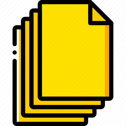 document, file, files, folder, write icon
