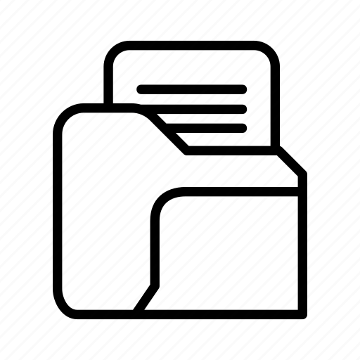 archive, document, file, folder, network, storage icon