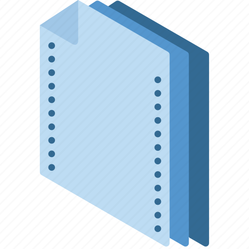 Document, folder, isometric icon - Download on Iconfinder