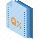 express, file, folder, isometric, quark icon